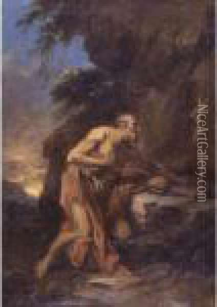Saint Jerome In The Wilderness Oil Painting - Sebastiano Ricci