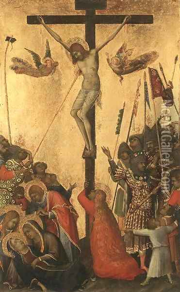 Crucifixion 1333 Oil Painting - Louis de Silvestre