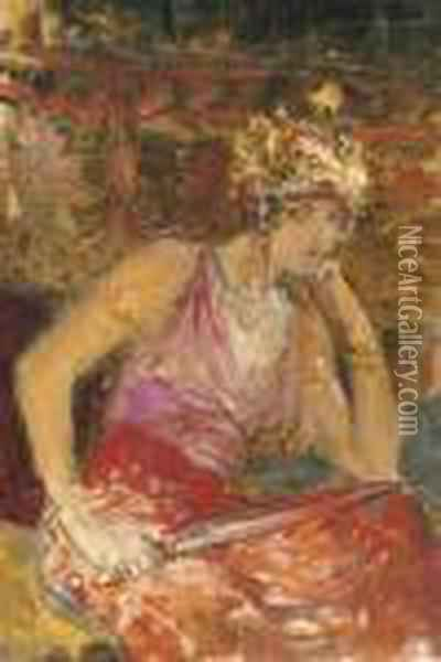 Salome Oil Painting - Georges Antoine Rochegrosse