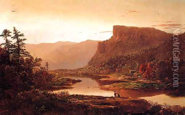Autumn Landscape Oil Painting - William Louis Sonntag