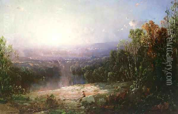 In the Wilderness Oil Painting - William Louis Sonntag