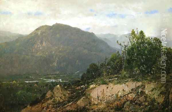 Landscape I Oil Painting - William Louis Sonntag