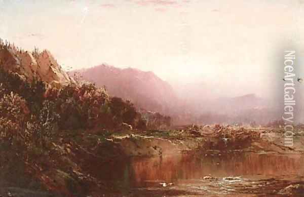 Autumn Landscape 3 Oil Painting - William Louis Sonntag