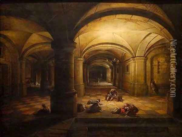 The Liberation of St Peter 2 Oil Painting - Hendrick van, the Younger Steenwyck