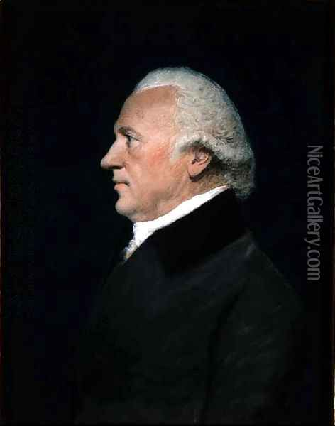 Sir William Herschel, c.1805 Oil Painting - James Sharples