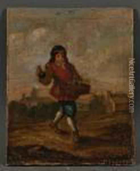 The Essence Vendor Oil Painting - David The Younger Teniers