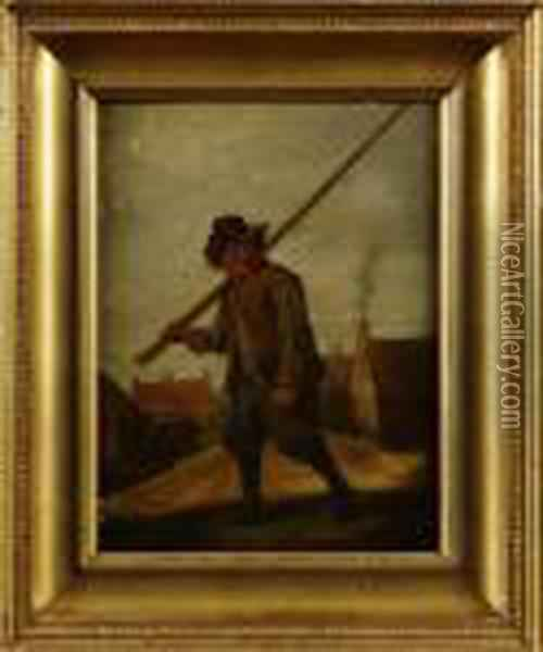 Hans Art Oil Painting - David The Younger Teniers