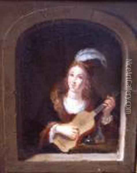 A Pair Of Paintings Oil Painting - David The Younger Teniers