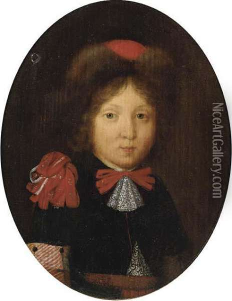 Portrait Of A Boy Oil Painting - Gerard Terborch