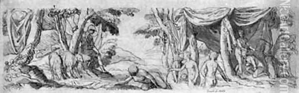 Diana and Actaeon Oil Painting - Veronese School