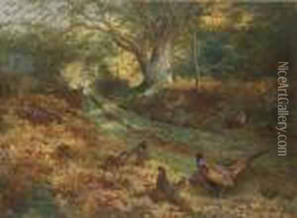 The Bridle Path Oil Painting - Archibald Thorburn
