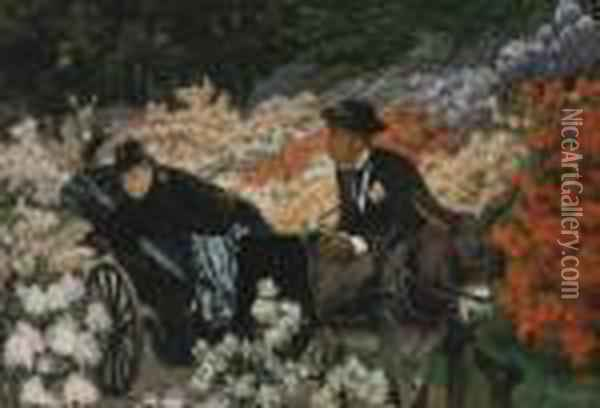 The Morning Ride Oil Painting - James Jacques Joseph Tissot