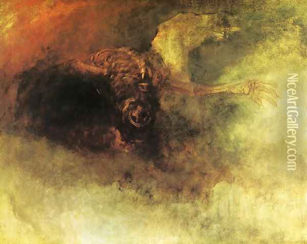 Death on a Pale Horse Oil Painting - Joseph Mallord William Turner