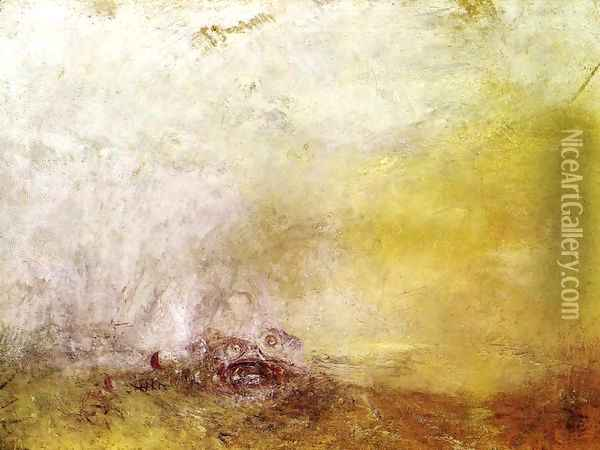 Sunrise with Sea Monsters 1845 Oil Painting - Joseph Mallord William Turner