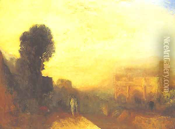 Arch of Constantine, Rome Oil Painting - Joseph Mallord William Turner