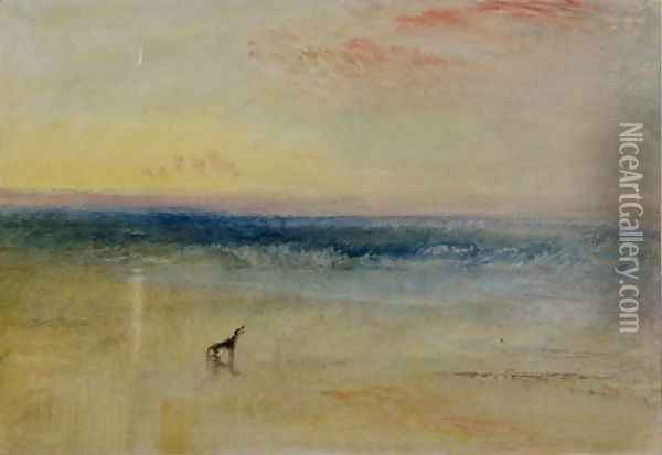 Dawn after the Wreck, c.1841 Oil Painting - Joseph Mallord William Turner