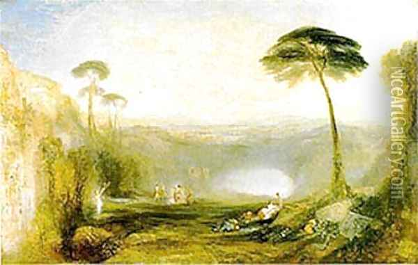 The Golden Bough Oil Painting - Joseph Mallord William Turner