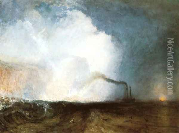 Staffa, Fingal's Cave Oil Painting - Joseph Mallord William Turner