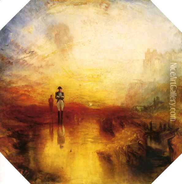 The Exile And The Snail Oil Painting - Joseph Mallord William Turner