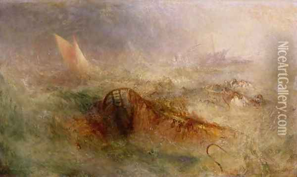 The Storm, c.1840-45 Oil Painting - Joseph Mallord William Turner