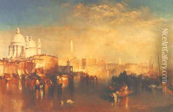 Venice Oil Painting - Joseph Mallord William Turner
