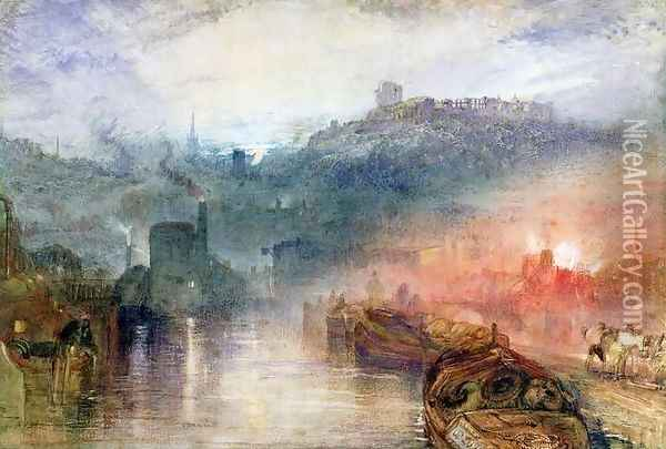 Dudley Oil Painting - Joseph Mallord William Turner