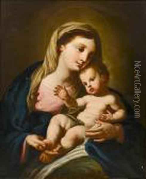 The Madonna And Child Oil Painting - Francesco Trevisani