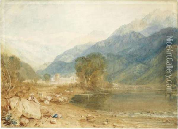 A View From The Castle Of St. 