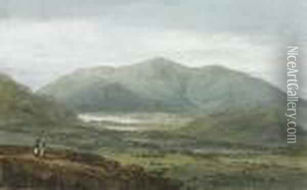 Skiddaw And Bassenthwaite Lake From Newlands, The Lake District,cumbria Oil Painting - Joseph Mallord William Turner