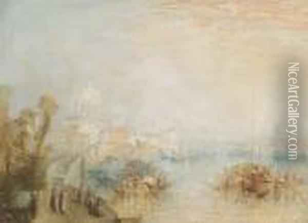 The Grand Canal, Venice Oil Painting - Joseph Mallord William Turner