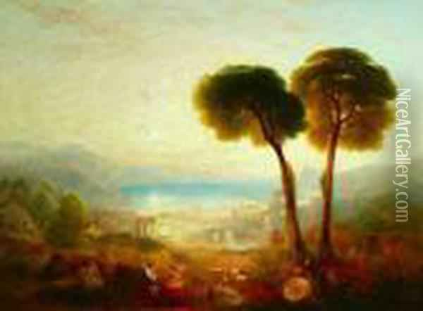 Bay Of Baiae With Apollo And The Sibyl Oil Painting - Joseph Mallord William Turner