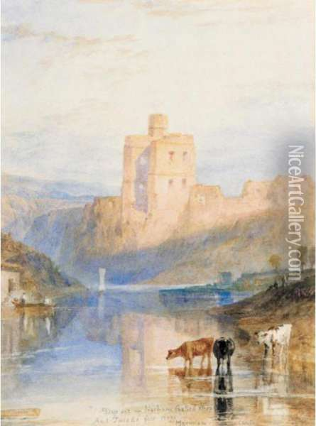 Norham Castle On The Tweed Oil Painting - Joseph Mallord William Turner
