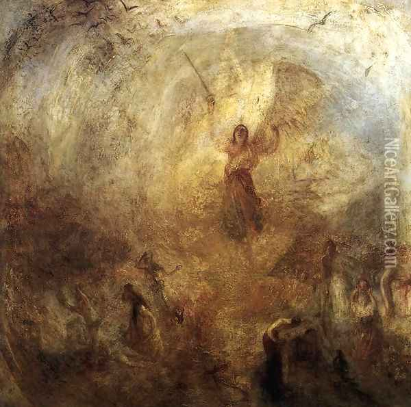 The Angel Standing in the Sun 1846 Oil Painting - Joseph Mallord William Turner