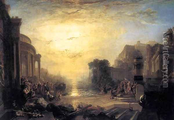 The Decline of the Carthaginian Empire 1817 Oil Painting - Joseph Mallord William Turner