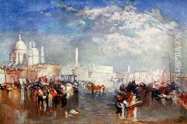 Venice, illustration from Lives of Great Men Told by Great Men, edited by Richard Wilson, c.1920s Oil Painting - Joseph Mallord William Turner