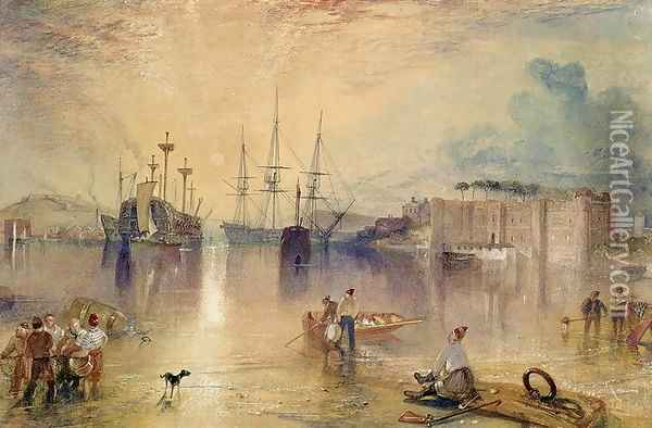 Upnor Castle, Kent Oil Painting - Joseph Mallord William Turner