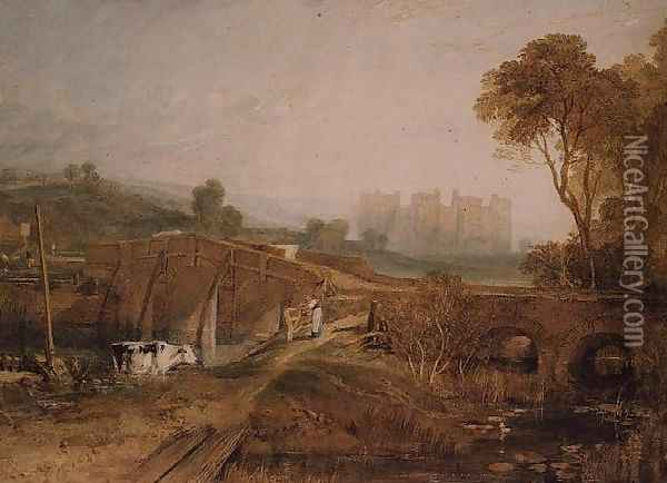 Conway Castle 5 Oil Painting - Joseph Mallord William Turner