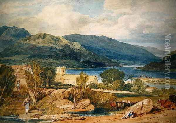Patterdale Oil Painting - Joseph Mallord William Turner