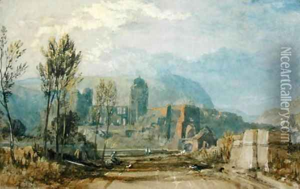 Andernach, 1817 Oil Painting - Joseph Mallord William Turner