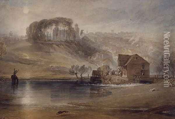 Colchester, c.1826 Oil Painting - Joseph Mallord William Turner