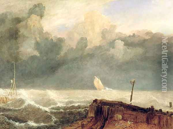 Port Ruysdael Oil Painting - Joseph Mallord William Turner