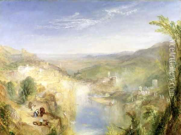 Modern Italy - The Pifferari, 1838 Oil Painting - Joseph Mallord William Turner