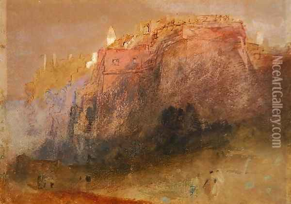 Luxembourg, c.1825 Oil Painting - Joseph Mallord William Turner