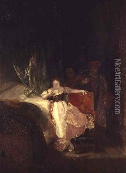 Rembrandts Daughter, 1827 Oil Painting - Joseph Mallord William Turner
