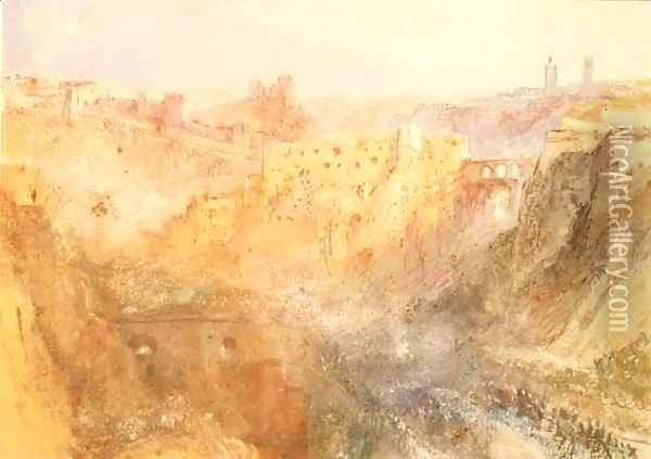 Luxembourg Oil Painting - Joseph Mallord William Turner