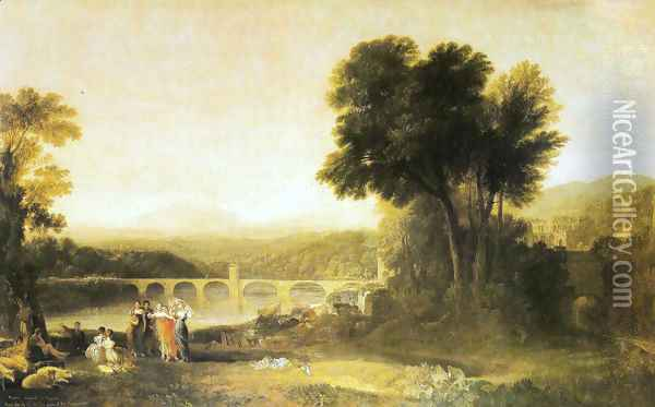 Appulia searching Appulo Oil Painting - Joseph Mallord William Turner