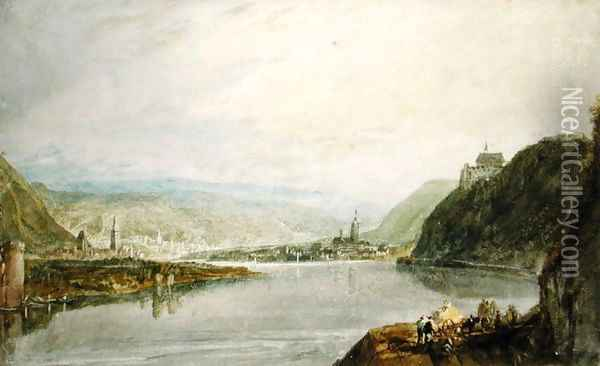 Remagen and Linz, 1817 Oil Painting - Joseph Mallord William Turner