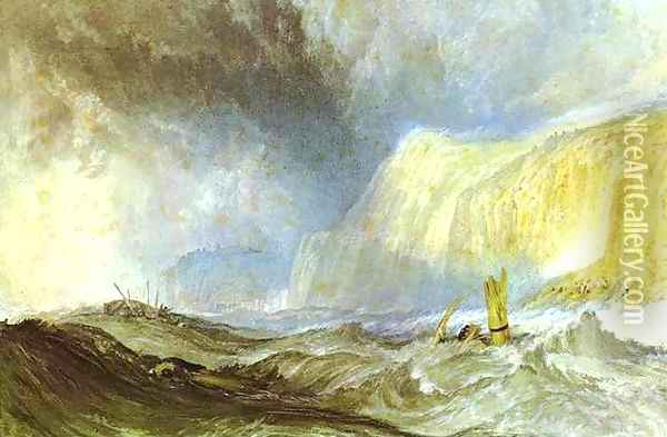 Shipwreck off Hastings Oil Painting - Joseph Mallord William Turner