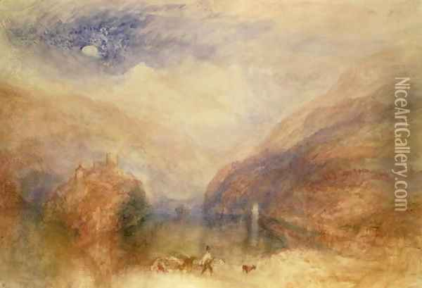Lake of Brienz 2 Oil Painting - Joseph Mallord William Turner