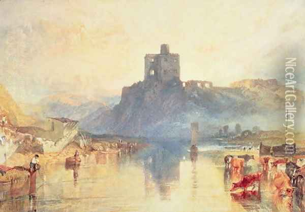 Norham Castle, 1824 Oil Painting - Joseph Mallord William Turner